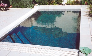 Chip tile finish pool - Type-casting Your New Pool