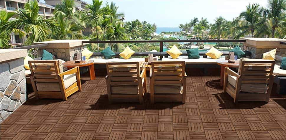 timber decking for your pool surround