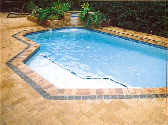 Bricks are a popular surround for your pool