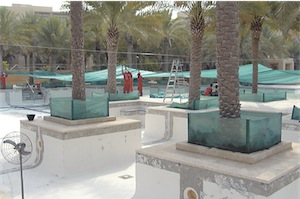 dubai pool 02 - Mammoth Pool Makeover in the Desert