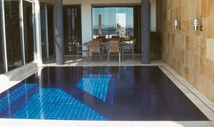 Mosaic tiled new pool
