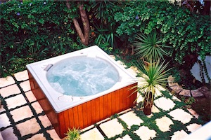 Jacuzzi hot water spa