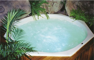 Jacuzzis hot water spa indoors