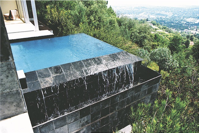 Elevated swimming pool other angle