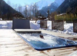 cool home swimming pools. Brilliant Cool Cool Pool Warm Up For Winter U2013 Solar Panels Intended Home Swimming Pools